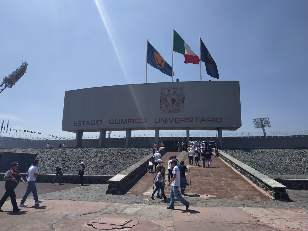 Estadio olimpico universitario UNAM