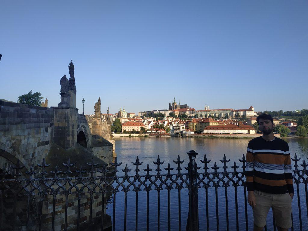 vista ponte carlo Praga
