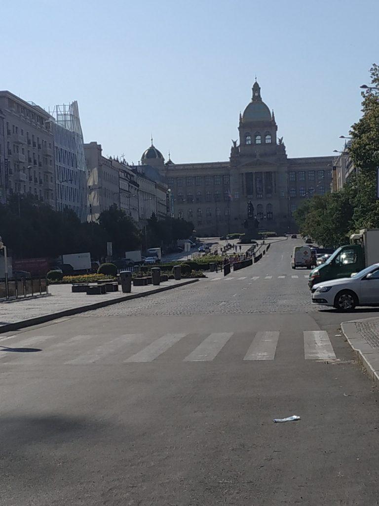 Piazza venceslao Praga