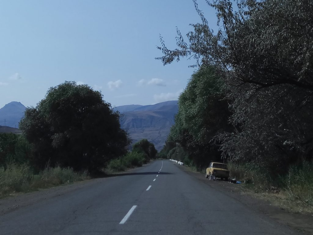 venditore di angurie nagorno karabakh