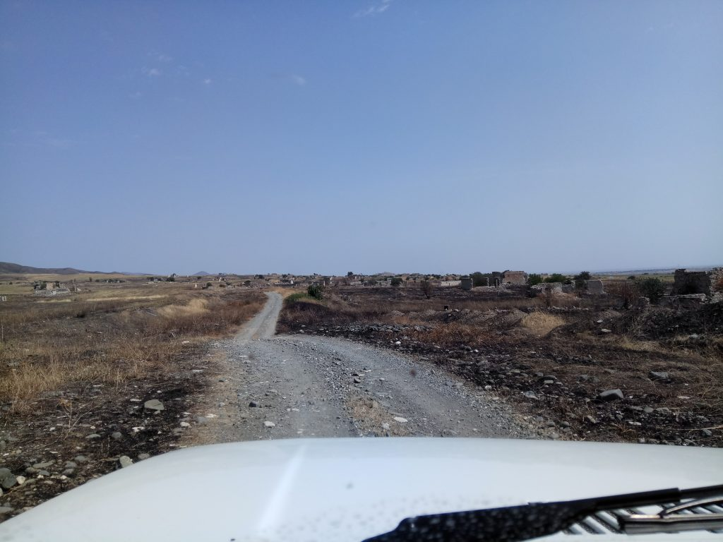 Villaggio abbandonato Nagorno Karabakh