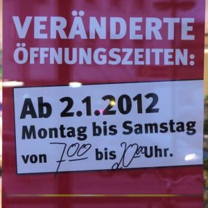 Perché in Germania è tutto chiuso la domenica?